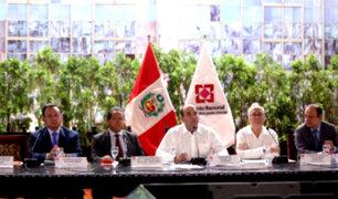 Acuerdo Nacional respalda acciones del gobierno ante emergencia por desastres