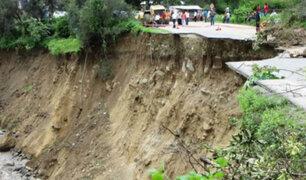 Huancavelica: tres provincias afectadas tras caída de huaicos