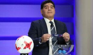 Diego Armando Maradona renunciará a la FIFA