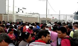 Callao: cientos continúan a la espera de viajar en puente aéreo de la FAP