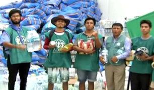 """""""Juntos por el Perú"""": continúa campaña para ayudar a damnificados"""
