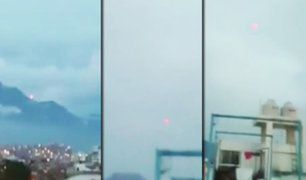 Extraño objeto luminoso es captado en el cielo de Trujillo