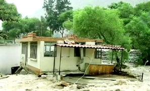Huarochirí: vecinos de Cupiche claman ayuda tras desborde de río Rímac