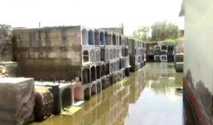 Chiclayo: lluvias inundaron histórico cementero de Túcume