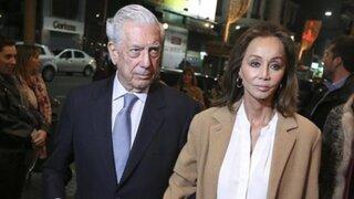 Mario Vargas Llosa llegó al Perú junto a Isabel Preysler para celebrar su cumpleaños