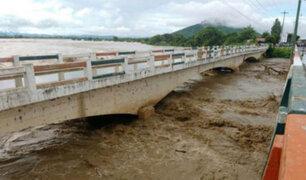 Población aledaña al río Piura es evacuada ante posible desborde