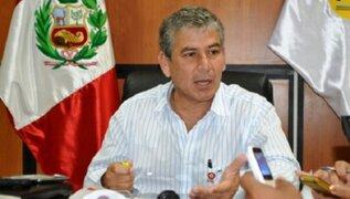 Gobernador regional teme nuevo desborde del río Piura