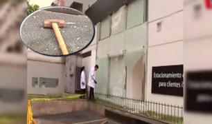 Miraflores: frustrado robo bajo modalidad del 'combazo' en tienda de celulares