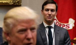 EEUU: yerno de Trump declarará sobre sus vínculos con Rusia