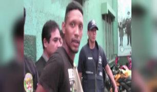PNP interviene a peligroso delincuente en avenida Grau
