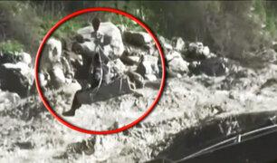 Cientos de familias se encuentran aisladas tras colapso de puente en Oyón