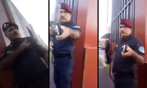 Indignación en Facebook por presunto maltrato de comandante a suboficial de la PNP