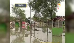 Perú en emergencia: Distrito piurano de Castilla continúa inundado