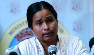 Evangelina Chamorro pide ser reubicada en terreno seguro