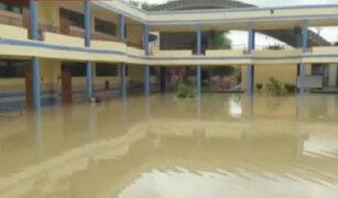 Instituciones públicas y privadas de Piura también resultaron anegadas