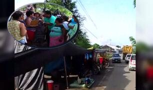 Catacaos necesita ayuda: familias piuranas duermen en plena carretera