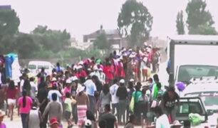 Combinado llegó a Carapongo y nos muestra la otra cara de la ayuda a los damnificados