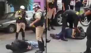 Callao: tras balacera efectivos de la Águilas Negras capturan a peligrosos raqueteros