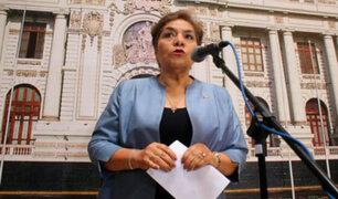 Luz Salgado condenó disolución del Parlamento venezolano