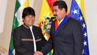 Oposición pide a presidente Evo Morales retirar a embajador en Venezuela