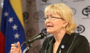 """Fiscal General de Venezuela denuncia """"ruptura del orden constitucional"""""""