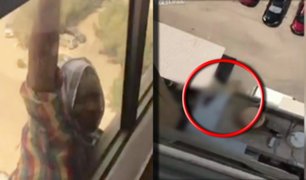 Kuwait: mujer graba a su empleada que cae de edificio sin brindarle ayuda