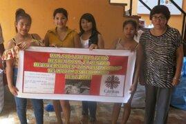 Damas de compañía de Tacna se unen y realizan donación para damnificados del FEN