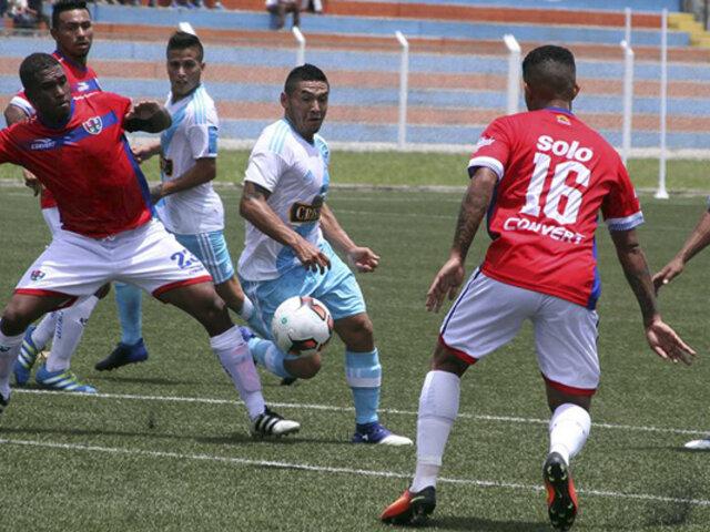 Sporting Cristal igualó marcador 2-2 ante Unión Comercio