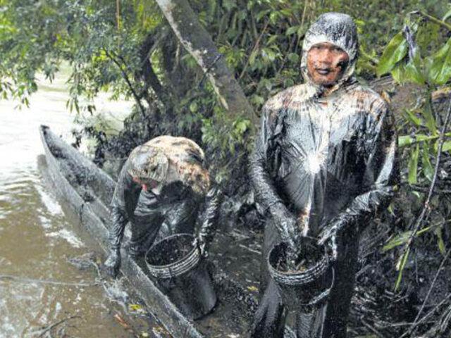 """Loreto: comunidades nativas exigen """"investigación profunda"""" tras derrame de petróleo"""