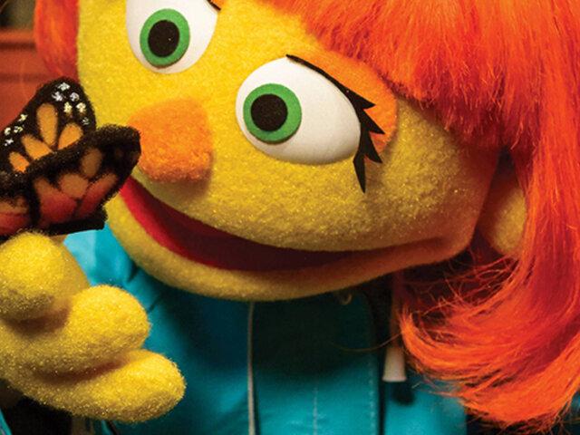 Presentan a la primera marioneta con autismo