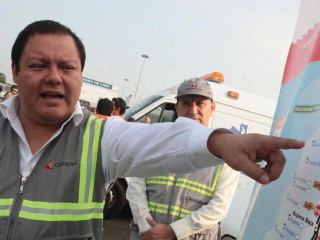 Caso Odebrecht: detienen a exjefe de Ositrán de gobierno del Apra