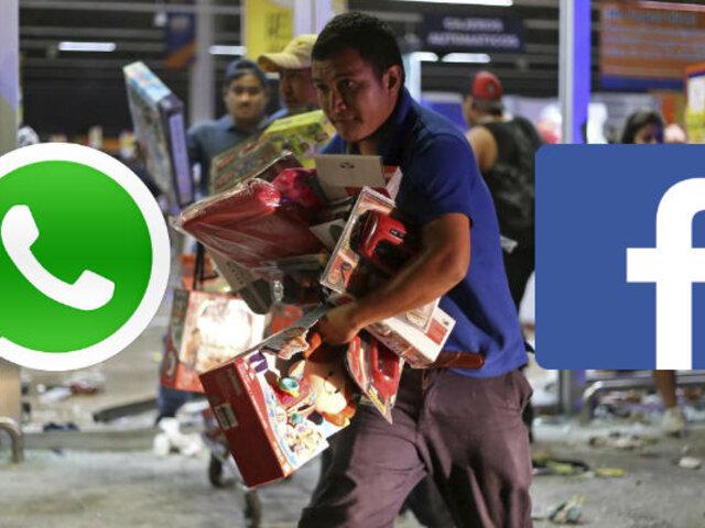 ¿Cuál es la pena por difundir rumores y llamar a saqueos en las redes?