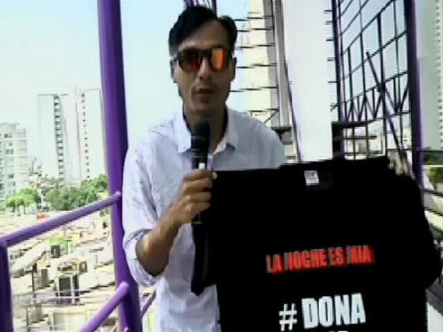 """Dona una carpa: continúa campaña de """"La Noche Es Mía"""""""