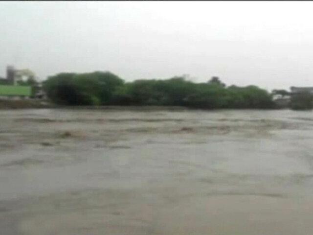 Piura: crecida del río genera alerta ante posible desborde