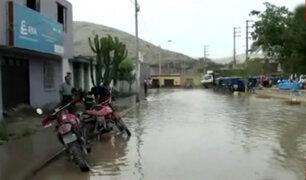 Chimbote: más de 100 viviendas inundadas por desborde de río Loco
