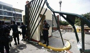 Así fue el ingreso de la policía a la Universidad San Marcos