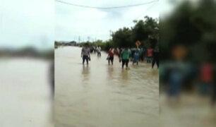 Lluvias continuarán en menor dimensión en Tumbes, Piura y Lambayeque