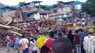 Colombia: avalancha por fuertes lluvias deja más de 200 muertos y decenas de heridos