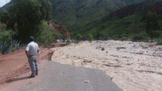Ayacucho: 53 distritos fueron declarados en emergencia por intensas lluvias