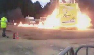 Francia: explosión en feria deja más de 30 heridos