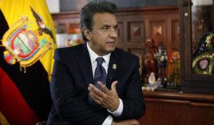Ecuador: oficialista Lenín Moreno dice que respetará resultados de comicios