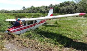 Avioneta con ocho pasajeros a bordo se estrella en Yurimaguas