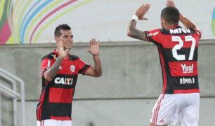 Flamengo y Fluminense igualaron 1-1 marcador