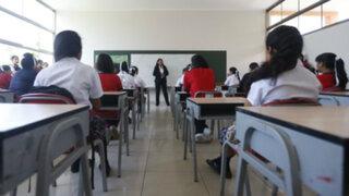 Lima: colegios públicos recuperaran clases perdidas