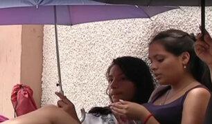 Seguidoras de Justin Bieber duermen en la calle por concierto