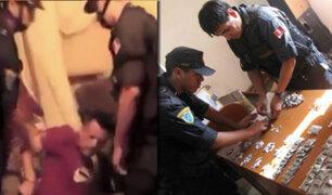 Capturan a vendedor de drogas con más de 100 ketes de PBC en Chorrillos