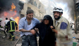 Siria: ataque químico deja al menos a 100 civiles muertos