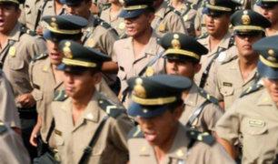Los Olivos: policías ebrios fueron detenidos tras hacer disparos al aire