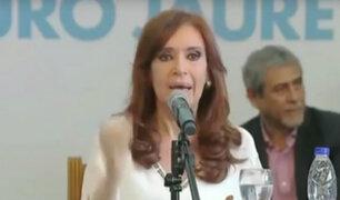 Argentina: ordenan embargar 8 millones de dólares a Cristina Fernández