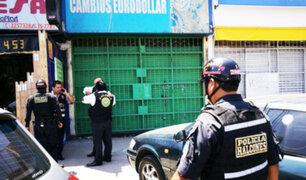 Balacera en Surquillo dejó 4 heridos durante asalto a cambista